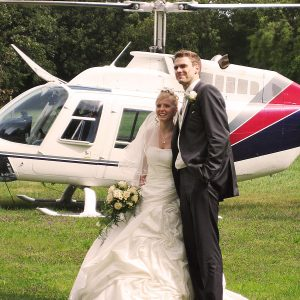 Heiraten Schloss Spyker Insel Rügen Helikopterflug