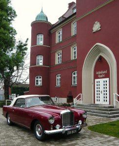Hochzeiten Hotel Schloss Spyker Rügen Bentley