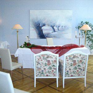 Standesamt im Hotel Schloss Spyker auf Rügen am Jasmunder Bodden bei Glowe